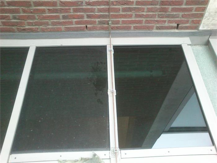 Glas lasspatten olieachtige vlekken waas op glas verwijderen - Glazen dak dak glijdende ...